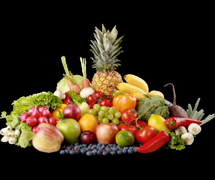 Frutas y verduras, cadena de frio