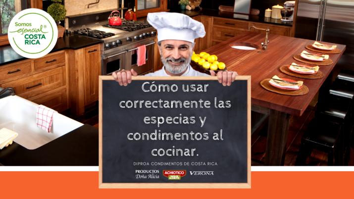 Cómo usar correctamente las especias y condimentos al cocinar.