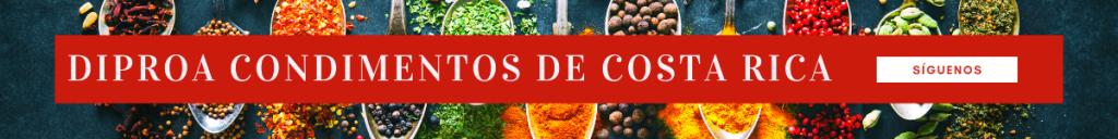 DIPROA Condimentos de Costa Rica.